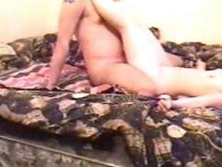 Amateur fuck presented by horny couple in the sextape video