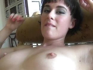 ATKGirlfriends video: Coco showing off her hairy pussy