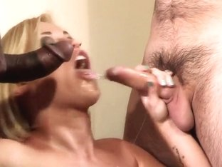 Ash Hollywood has unforgettable threesome sex