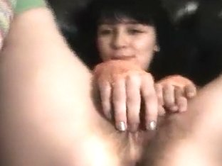 Horny Amateur record with Brunette, Stockings scenes