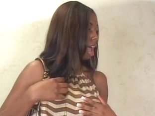 Natural Perfect Ebony Does Porn For Cash
