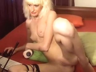Amazing webcam Blonde, Shaved video with MarianelaXXX slut.