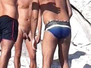 Some more greek beach spying and teasing