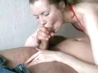 Deepthroating a fat big cock