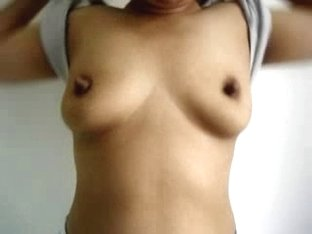 Showing my latina tits in sex video