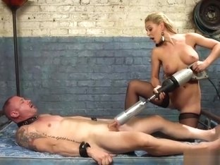 Mistress Cherie Deville With Her Slave