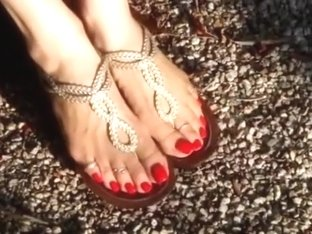 martika toy soldier, sandals and flip flops (music video)