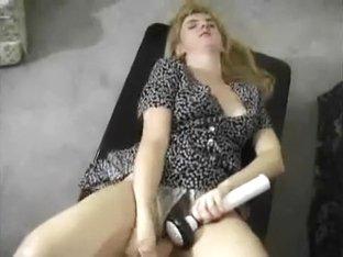 Cumming with my big knob toy