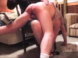 Taken Over Miss Lisa's Knee and Spanked