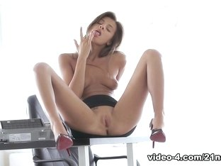 Crazy pornstar in Exotic Redhead, Solo Girl adult movie