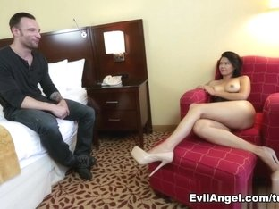 Exotic pornstars Dana Vespoli, Alex Legend in Crazy Asian, Anal sex scene