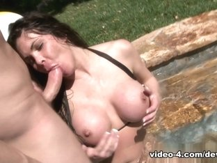 Fabulous pornstar Hunter Bryce in Crazy Big Tits, MILF adult video
