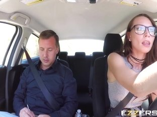 Aidra Fox In Driving Dick