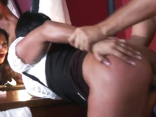 Amazing sex scene on the crime scene