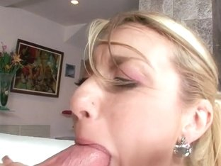 Missy Woods Enjoys Big Wood