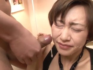 Akina Hara Sucks On Several Dicks In A Series Of Sloppy