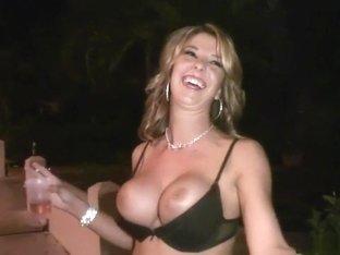Horny pornstar in incredible outdoor, blonde porn clip