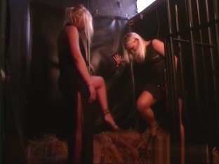 Poor Loser Treated Like an Animal In A Barn By Dominatrices