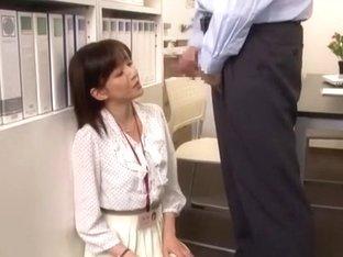 Best Japanese chick Ai Komori in Incredible Cumshots JAV clip