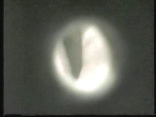 Girl in dressing room voyeured from above on spy cam