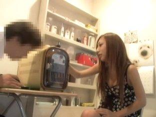 Sweet Jap slut filled with dick in medical fetish video