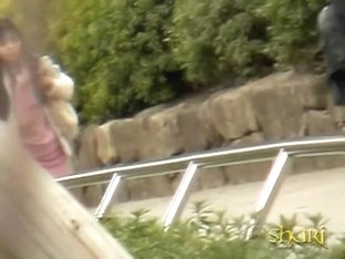 Shuri sharking encounter with black-haired vixen losing her sexy underwear