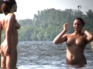 Beach sex cam shooting nude people on boat and on beach