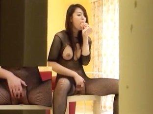 Hottest Japanese slut in Best Fetish, Stockings/Pansuto JAV movie