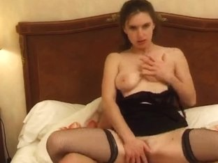 French angel banged in her pretty pussy on a porn video