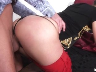 Aruna Aghora in Euro Girl Gets Picked Up - PublicPickups