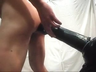 My butt full of sextoy with my cum