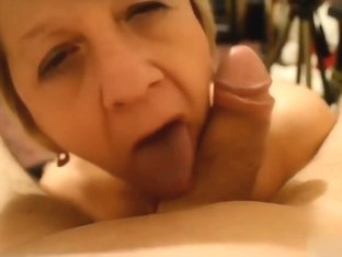 Watch how that babe likes to engulf dick