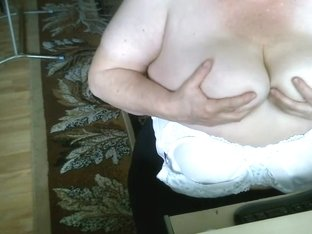 My big mature tits on a webcam