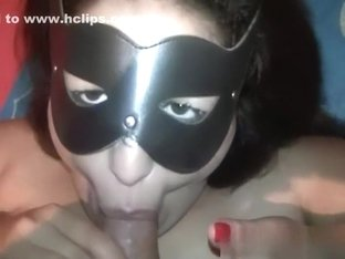My plump girlfriend likes to feel my cum on her face