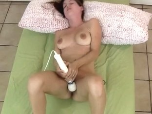 My busty broad and a vibrating egg