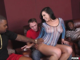 Karlee Grey gets fucked by BBC in front of her husband