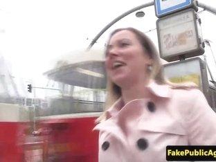 Crazy pornstars in Horny Reality, Public sex clip