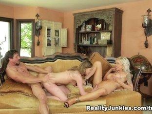 Crazy pornstars Brianna Brown, Nina Elle, Tommy Gunn in Incredible Big Tits, Threesomes xxx clip