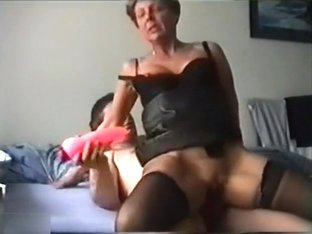 Older Babe On Black Stocking Getting Fucked