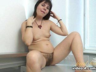 Fabulous pornstar in Amazing Brunette, Small Tits porn video