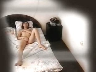 Spy cam xxx filmed a sexy bimbo masturbating