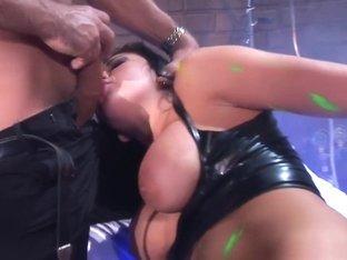Amazing pornstar Audrey Bitoni in crazy facial, latina porn clip