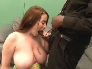 Incredible pornstar Desiree Deluca in exotic interracial, big tits adult clip