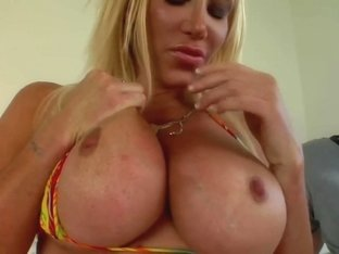 Hot Busty Cougar Banged Hard