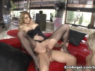 Crazy pornstars Angel Wicky, Markus Dupree, Rocco Siffredi in Exotic Hardcore, Big Ass porn scene