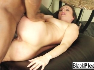 Jackie Jevaux in Super Sexy Jackie Jevaux Receives Black Dick In The Office - BlackPlease