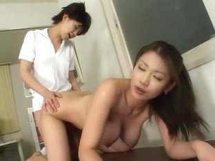 Best Japanese chick Akane Hotaru in Crazy Lesbian, Medical JAV clip