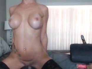 Blonde Hottie Licks her Cum off her DIldo