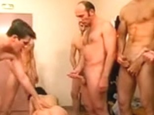 French Mom's First Gangbang