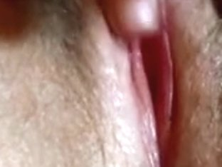 Playing with my soaked squirting pussy